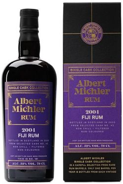 Albert Michler Single Cask Fiji 16y 2004 0,7l 52% GB / Rok lahvování 2020