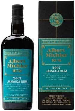 Albert Michler Single Cask Jamaica 13y 2007 0,7l 49% GB / Rok lahvování 2020