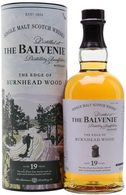 Balvenie The Edge of Burnhead Wood 19y 0,7l 48,7% Tuba