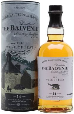Balvenie The Week of Peat 14y 0,7l 48,3% GB