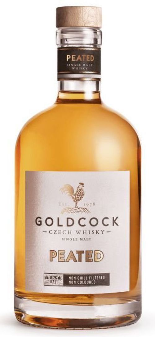 Gold Cock Peated Single Malt 0,7l 49,2%